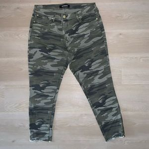 Express women's jeans